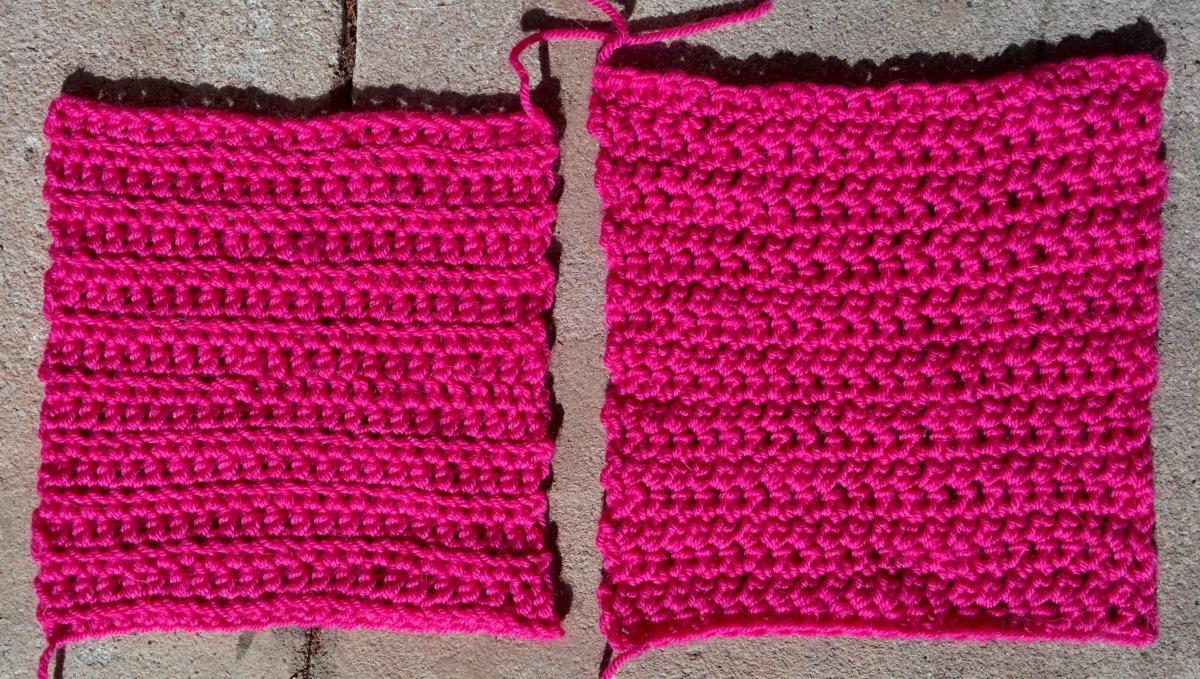 Extended-single crochet vs half-double crochet | forever ...
