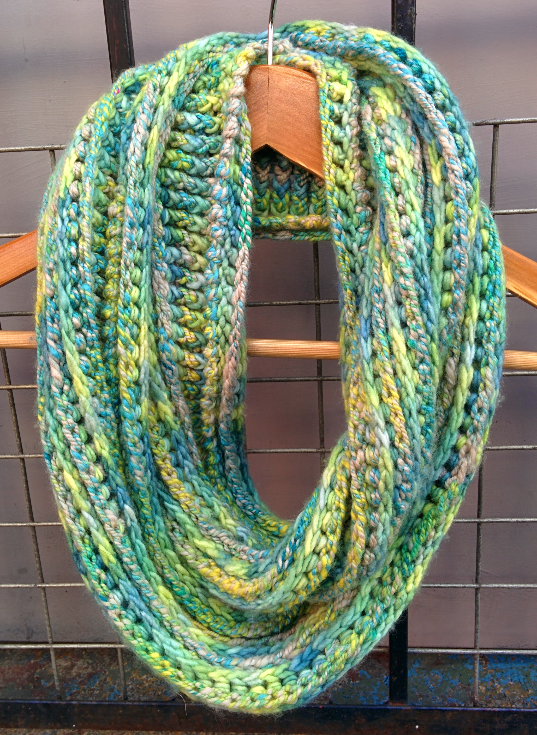 Eternal serpent scarf   forever in fibre