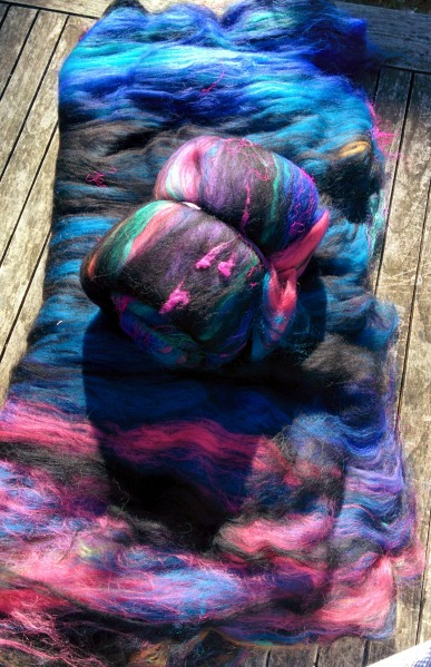 handspun rainbow yarn_20140701_132617