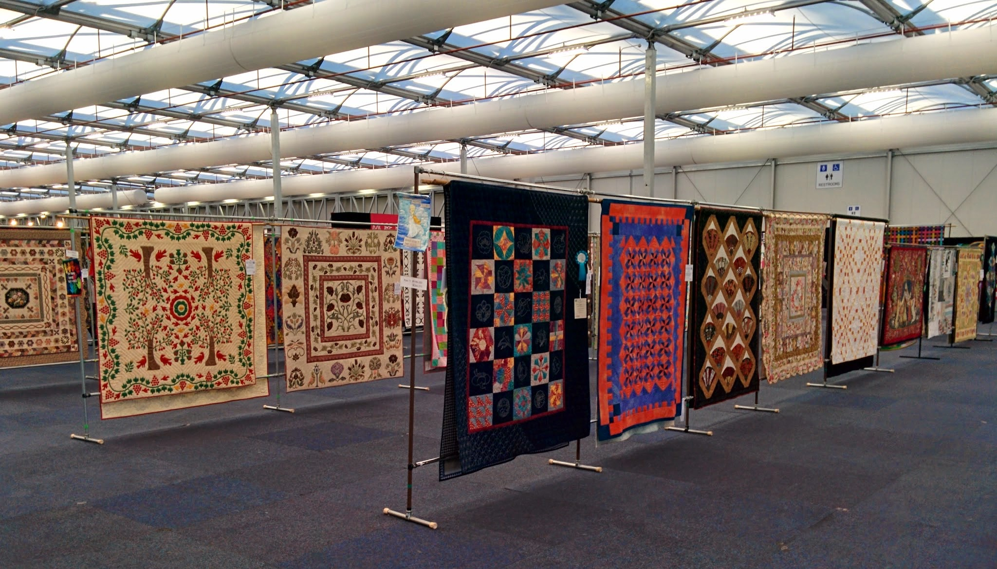 craft and quilt fair   forever in fibre