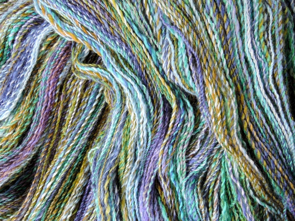Forest to sea handspun yarn 4604