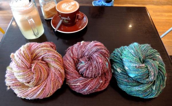 handspun yarn 6300