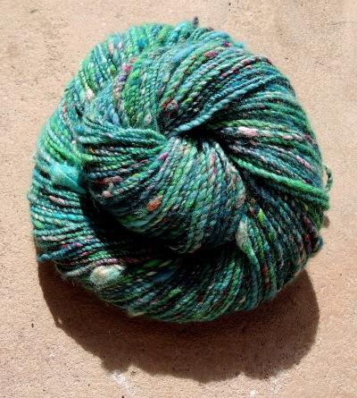 handspun yarn 6378