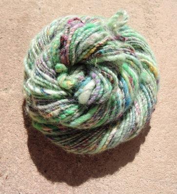 handspun yarn 6389