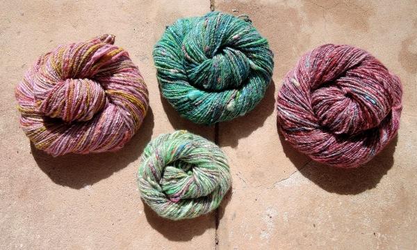 handspun yarn 6395