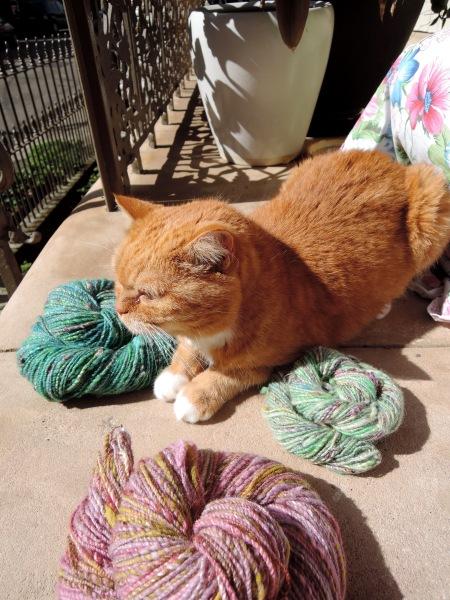 handspun yarn 6402