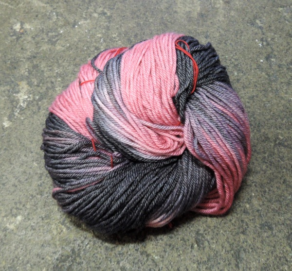 Dyeing yarn 6968